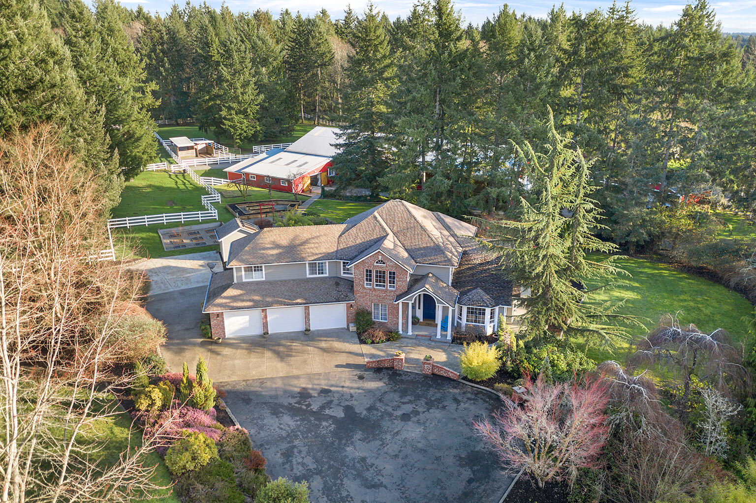 Five acre equestrian estate